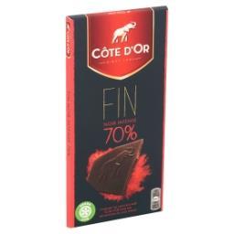 Sensations - chocolat noir 70% aux éclats de cacao