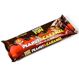 Snack size bars - cacahuètes et caramel