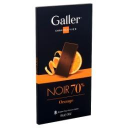 Chocolat noir 70% - orange