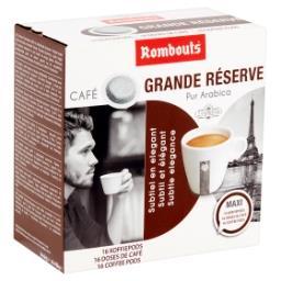 Café Grande Réserve Pur Arabica 16 Doses de Café