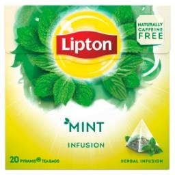 Infusion - herbal - mint - 20 sachets pyramide
