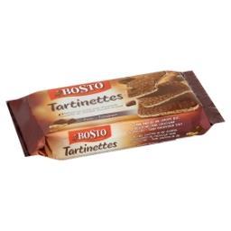 Tartinettes couvertes de chocolat fondant