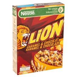 Lion - céréales au caramel et chocolat