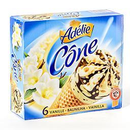 Cônes de glace - vanille