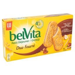 BelVita Petit Déjeuner Duo Fourré Goût Choco Noisett...