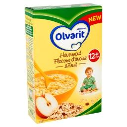 Olvarit - flocons d'avoine & fruit - 12+ mois