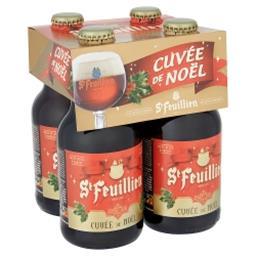 Cuvée de Noël Bouteilles 4 x 33 cl