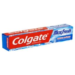Dentifrice au fluor - maxi fresh - avec cristaux fra...