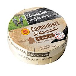 Camembert de normandie au lait cru 22%
