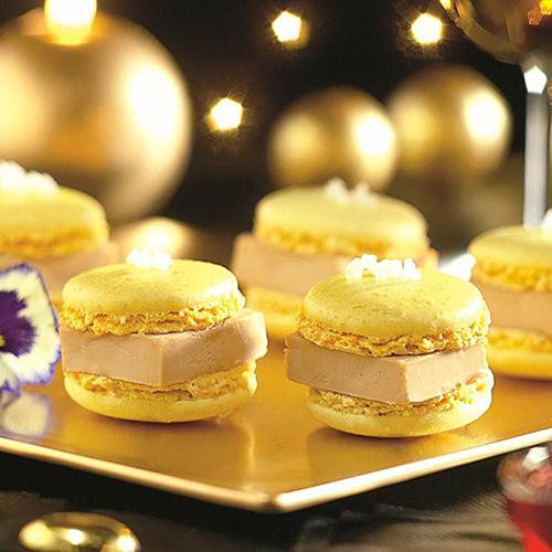 Macarons au foie gras
