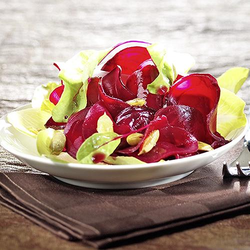 Betteraves en salade sucrée-salée