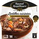 Raynal et Roquelaure Lentilles cuisinées aux émincés de canard la barquette de 300 g
