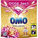 Omo Sensation - Capsules de lessive 2 en 1 essence fleur... les 28 capsules de 26,3 g