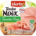 Herta Tendre Noix - Jambon façon Carpaccio la barquette de 4 tranches - 120 g