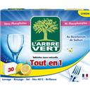L'Arbre Vert Tablettes lave-vaisselle tout en 1 citron les 30 tablettes de 18,5 g