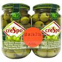 Crespo Olives vertes dénoyautées