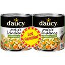 D'Aucy Poêlée vendéen Légumes 2x320g