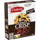 Chabrior Céréales Muesli Crisp chocolat noir le paquet de 500 g