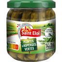 Saint Eloi Pointes d'asperges vertes le bocal de 100 g net égoutté
