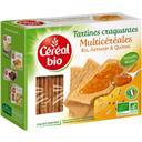 Céréal Bio Saveur BIO, tartines craquantes multi-céréales BIO