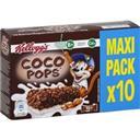 Kellogg's Coco Pops - Barres de céréales chocolat et lait les 10 barres de 20 g