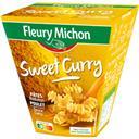 Box pâtes Radiatori poulet curry Fleury Michon