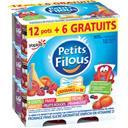 Yoplait Petits Filous - Fromage frais aux fruits les 12 pots de 50 g - 900 g