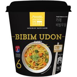 Maison de Corée Bibim Udon curry le bol de 167 g