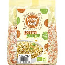 Riz quinoa & lentilles BIO