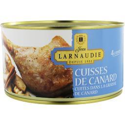 Cuisses de canard cuites dans la graisse de canard
