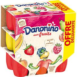 Danonino - Fromage blanc aux fruits