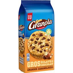 Granola - Biscuits gros éclats de chocolat amandes c...