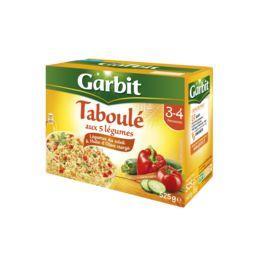 Garbit Taboulé aux 5 légumes