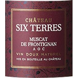 Muscat Château six terres vin Blanc