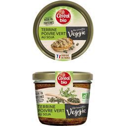 Céréal Bio Ma Recette Veggie - Terrine poivre vert au soja BIO la terrine de 180 g