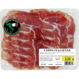 Chiffonnade de coppa italienne