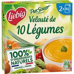 Pur'Soup - Velouté de légumes façon poêlée