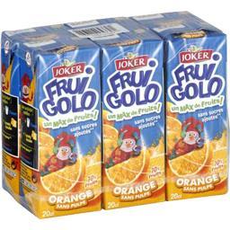 Fruigolo - Jus orange sans pulpe