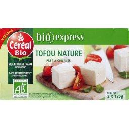 Tofu nature BIO prêt à cuisiner