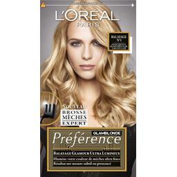 Préférence - Balayage N°1 cheveux blond très clair à clair