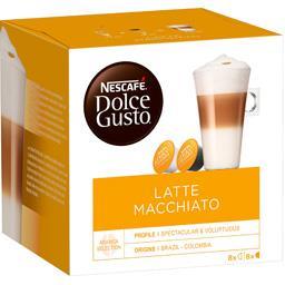 Dolce Gusto - Capsules de café Latte Macchiato