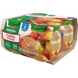 Dessert pommes fraises, de 6 mois à 36 mois