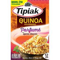Quinoa gourmand parfumé aux épices douces
