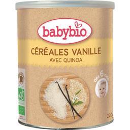 Céréales vanille avec quinoa BIO, dès 6 mois