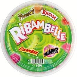 Assortiment de confiserie aromatisée et bubble gum, krema, pimousse, carambar, malabar