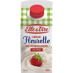 Crème fleurette de Normandie entière 30% MG