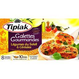 Galettes Gourmandes légumes du soleil & céréales