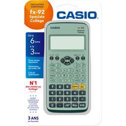 Casio Calculatrice FX 92+ spéciale collège