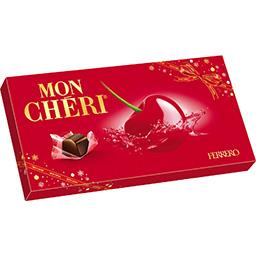 Ferrero Mon Chéri Bonbons de chocolat fourrés cerise et liqueur
