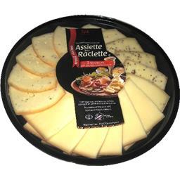 Assiette raclette lait cru/poivre/moutarde